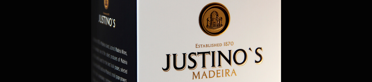 Justino's Madeira Wines renewed by Omdesign