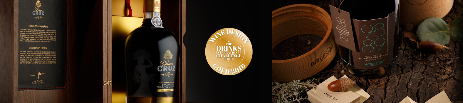 Omdesign is distinguished at the Wine Design Challenge