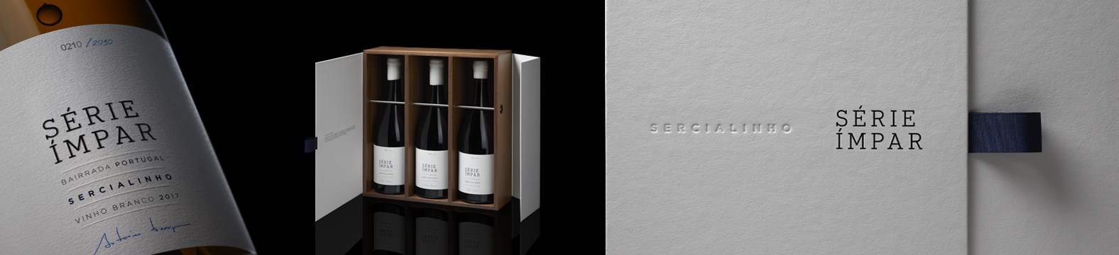 Omdesign signs the first Série Ímpar of Sogrape
